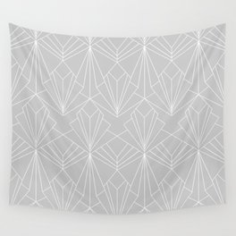 Art Deco on Grey Wall Tapestry