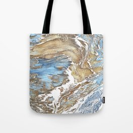 Woody Silver Tote Bag