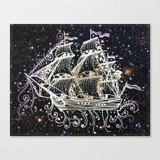 The Great Sky Ship II Canvas Print
