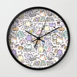 Artsy Cats Wall Clock