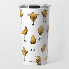Naughty Birds and a Potato Travel Mug