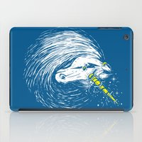 unicorns iPad Cases featuring Scar Unicorns by Steven Toang