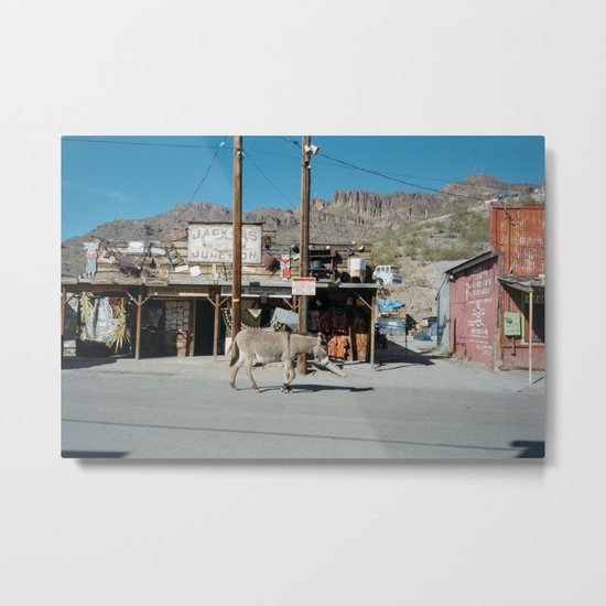 Jackass Junction Metal Print
