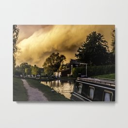 NB Noproblem at the locks Metal Print