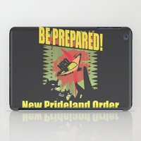 new order iPad Cases featuring Scar's New Prideland Order  by samoht-lion