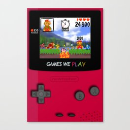games we play Canvas Print
