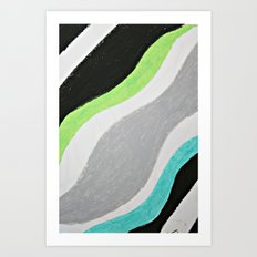 Magic River Art Print