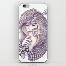 Owl Spirit iPhone & iPod Skin