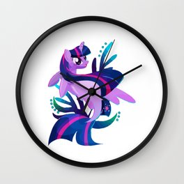 Seapony Twilight Sparkle Crewneck Wall Clock