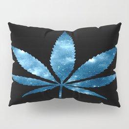 Weed : High Times blue Galaxy Pillow Sham