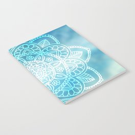 Blue Sky Mandala Notebook