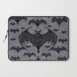 Balinese Bat - Haunted Mansion Damask Laptop Sleeve