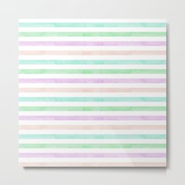 summertime: candy stripes Metal Print