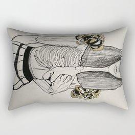 Mourning Lingerie Rectangular Pillow