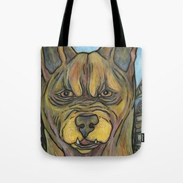 Junkyard Dog Tote Bag