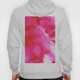 Alpine Rose - Abstract Watercolor Hoody
