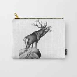 Stag Roaring in the Rut Carry-All Pouch