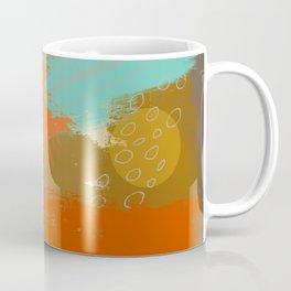 Secret Places, Abstract Landscape Art Coffee Mug