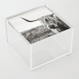Highland Cow Acrylic Box