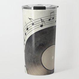 Vinyl Music Collection Travel Mug