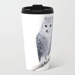 Snowy Fowl Travel Mug
