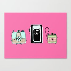 Retro Cameras Canvas Print