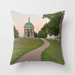 Antietam Twilight Throw Pillow