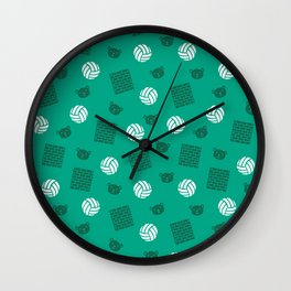 Volley Walls! Wall Clock