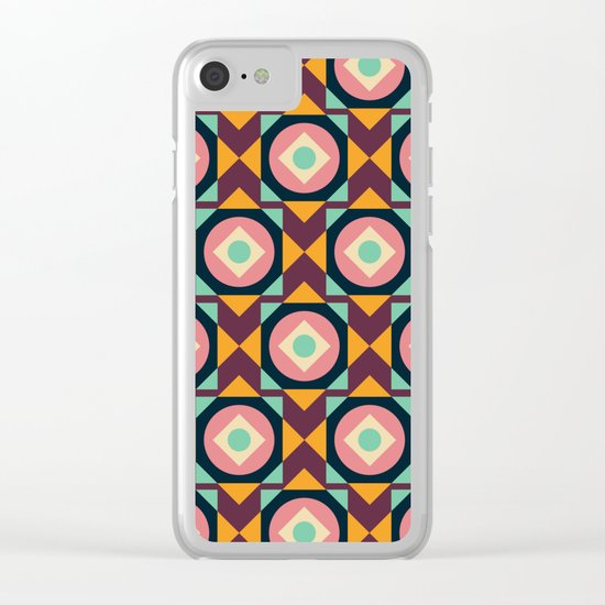Geometric#31 Clear iPhone Case
