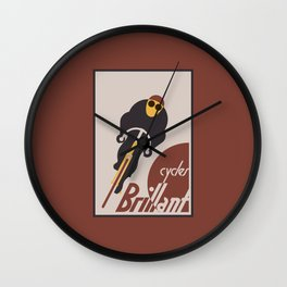 Brillant cycles Wall Clock