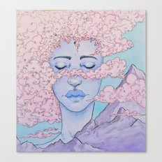Inhale Canvas Print