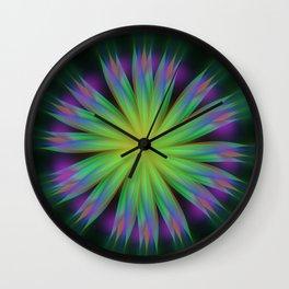 Sonic Bloom Wall Clock