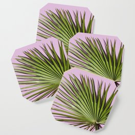 Palm on Lavender Coaster