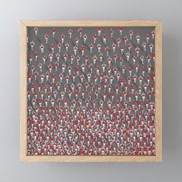 Marathon Framed Mini Art Print