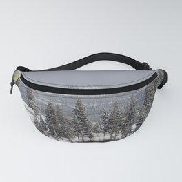 Yellowstone National Park - Blacktail Deer Plateau Panorama Fanny Pack
