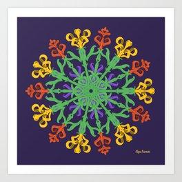 """Chega de Saudade"" (Ultravioleta) Art Print"