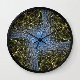 Plasma Light Wall Clock