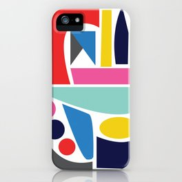 Abstract Geo iPhone Case