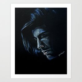 Blue(?) Zayn Art Print