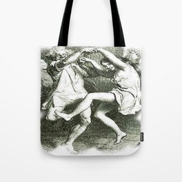 Tam O'Shanter Vector With White Background Tote Bag