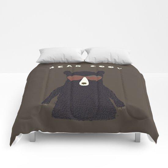 bear cool Comforters