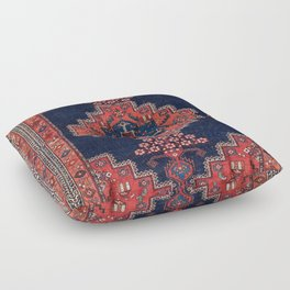 Afshar Kerman South Persian Rug Print Floor Pillow