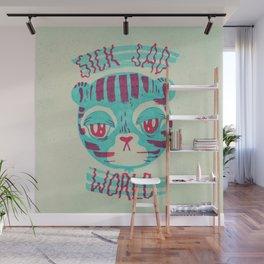 sick sad tiger Wall Mural