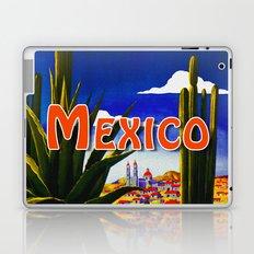 Vintage Mexico Village Travel Laptop & iPad Skin
