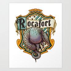 HP Rocafort House Crest Art Print