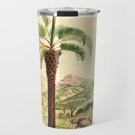 Vintage Botanical illustration, 1916 (Palm) Travel Mug