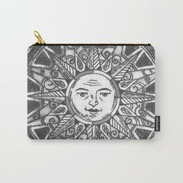B&W Moon & Sun Carry-All Pouch