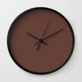 Brunette Wall Clock