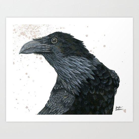 Raven Croft 2 Art Print