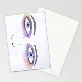 Two Black Eyes Stationery Cards